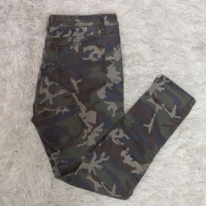 Cotton On Camouflage Mid Rise Jegging